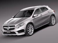 Mercedes-Benz GLA 45AMG 2014
