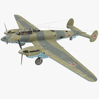 petlyakov pe-2i russian world war max
