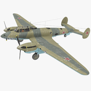 petlyakov pe-2i russian world war max
