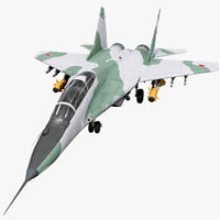 Russian Fighter Aircraft MiG-29 Rigged
