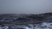 Stormy Ocean Scene