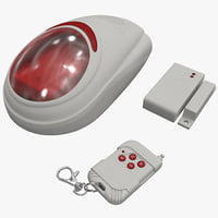 max wireless home security alarm