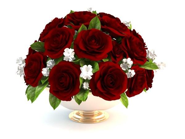 bouquet roses flower