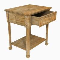 Old Wood Nightstand
