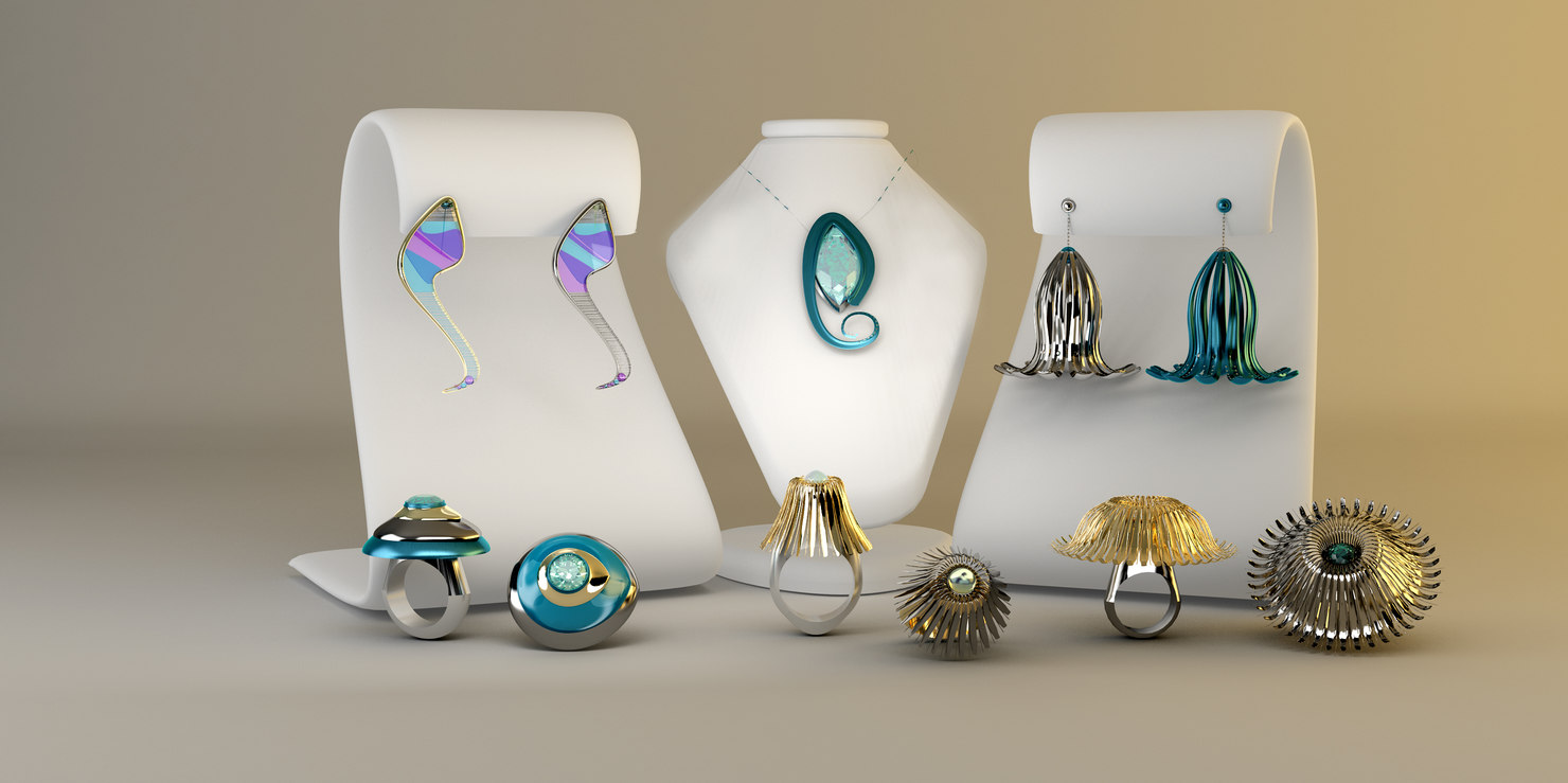 3d jewellery jewel model