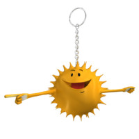 max sun star smiley