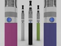 electronic cigarette c4d