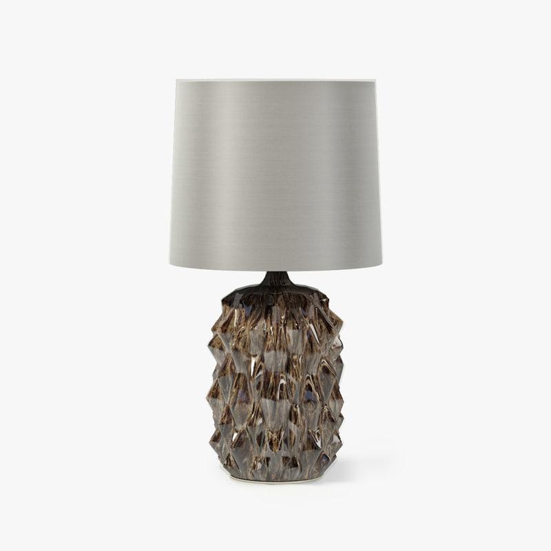 porta baobab lamp 3d max