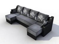 modular sofa 3ds