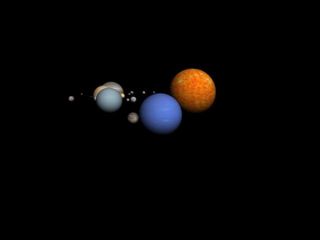 planets 3d model