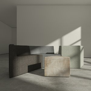 alexander loterzstain sofa tables 3d max