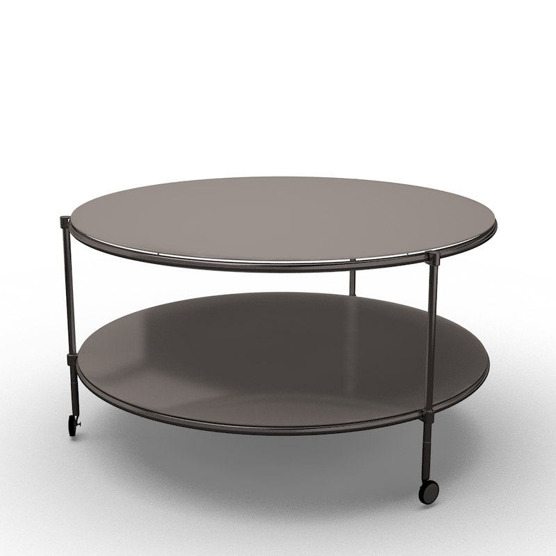 Ikea Strind Coffee Table 3d Ma