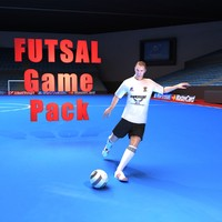 3d model futsal pack games