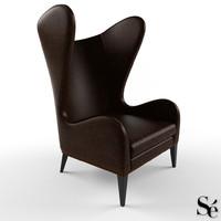 3d se london armchair