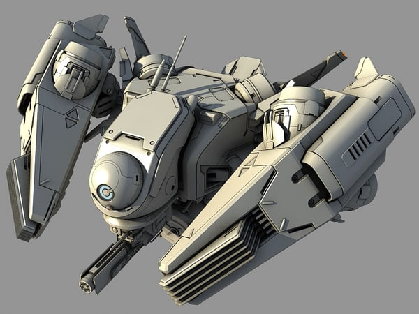 3ds max future fighter