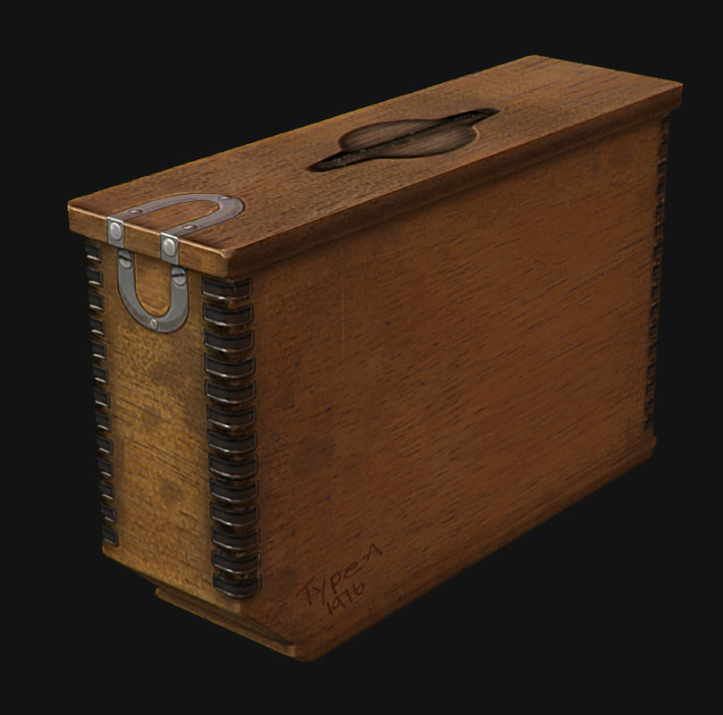 free obj model ammo box