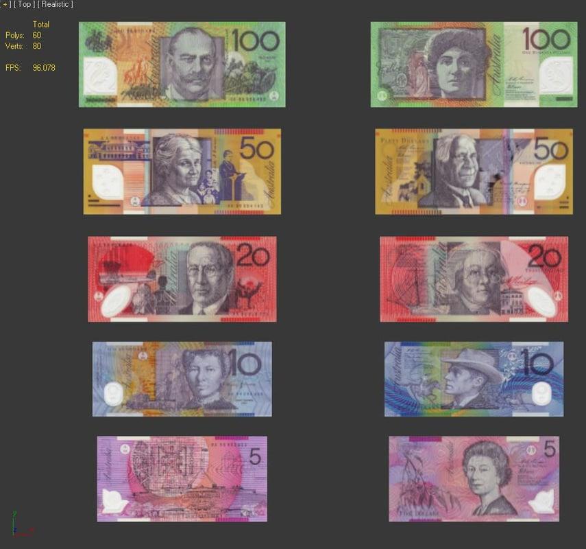 max money notes australia