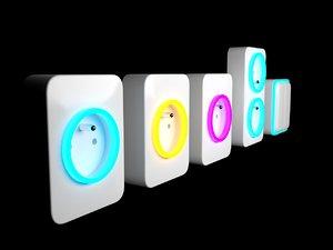free obj mode electrical socket design