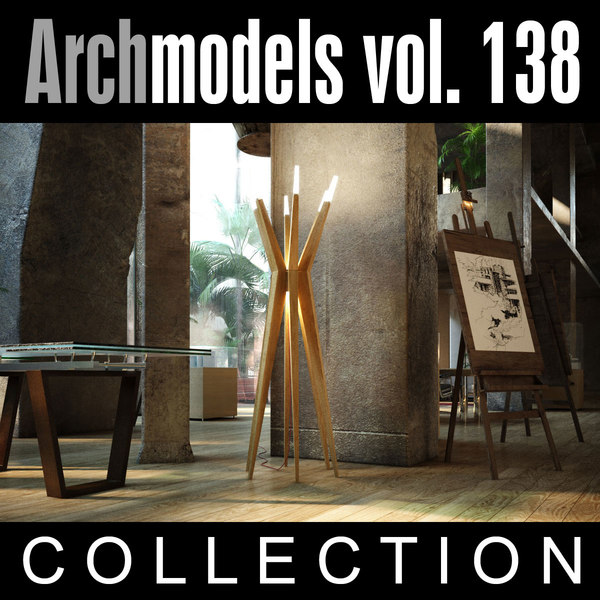 max archmodels vol 138 lamps
