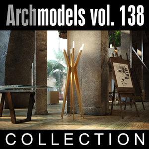 max archmodels vol 138 lamps