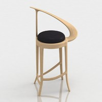 3d bar stool