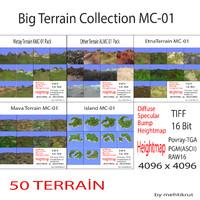 3d model terrain mc