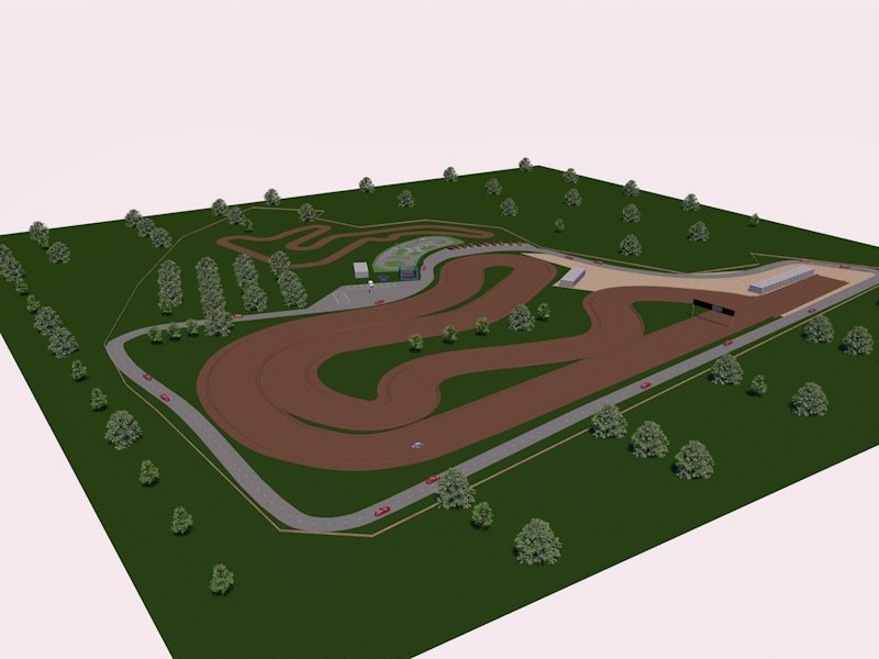 3d track circuit
