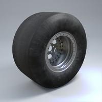 3ds wheel car tire
