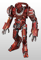 Big Red Robot