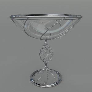 3d model fruit bowl