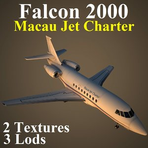 dassault falcon jet pvt max