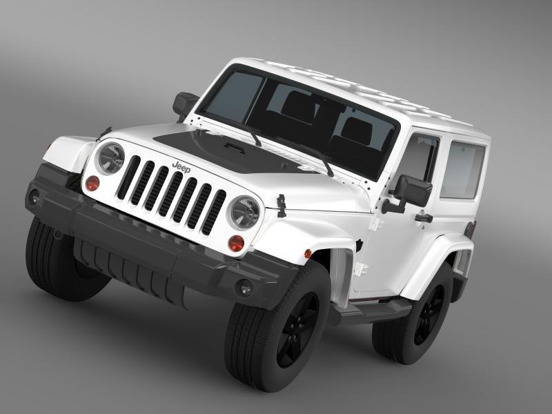 3ds max jeep wrangler arctic 2012