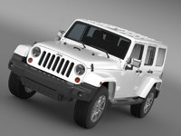 jeep wrangler unlimited indian 3d max