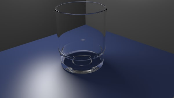 3d shot glass