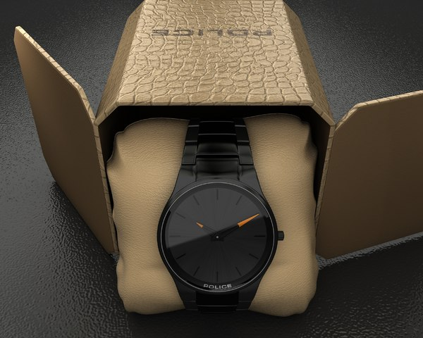 3d black horizon watch police
