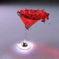 goblet martini 3d model