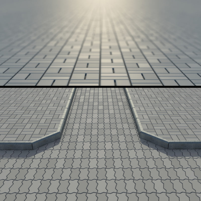 3ds max paving stone