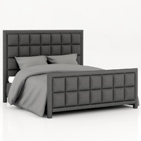 roybosh morris bed 3d model