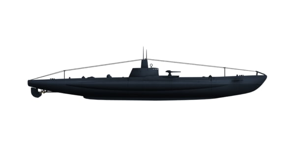 3d class submarines marconi
