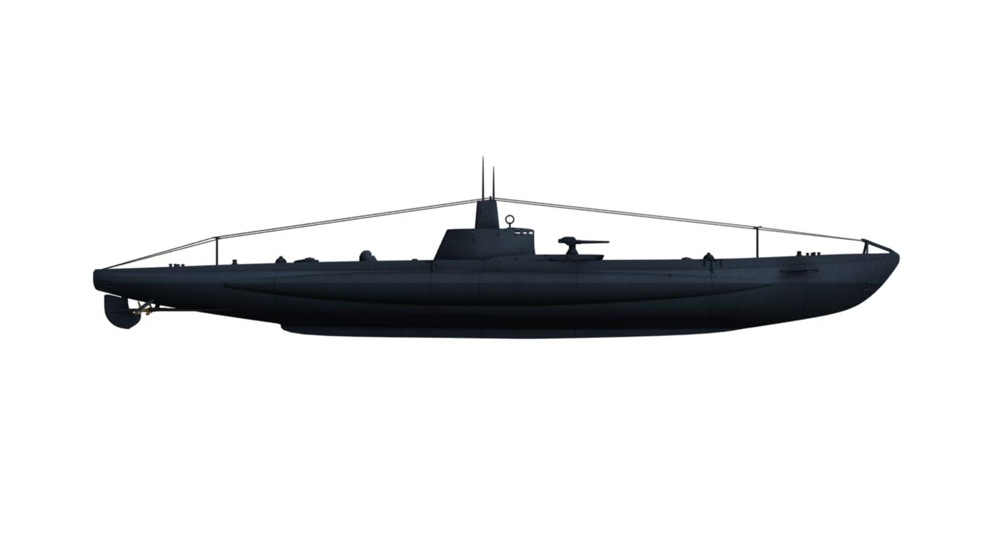3d class submarines marconi