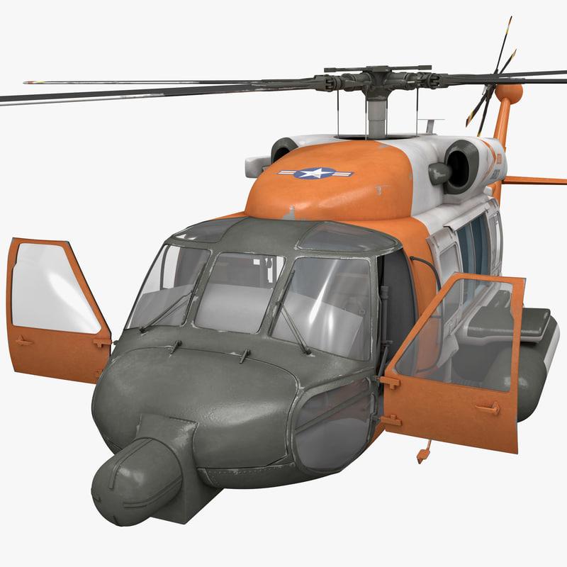 3d model sikorsky hh 60 jayhawk