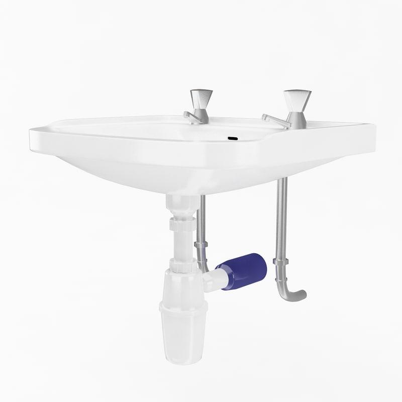 3d sink studio model