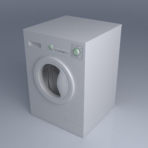 generic washing machine 3d c4d