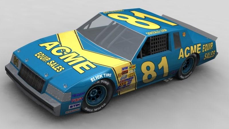 3d 1980 stockcar