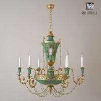 chandelier delisle 3d max