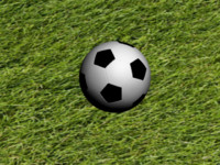 3d soccer football