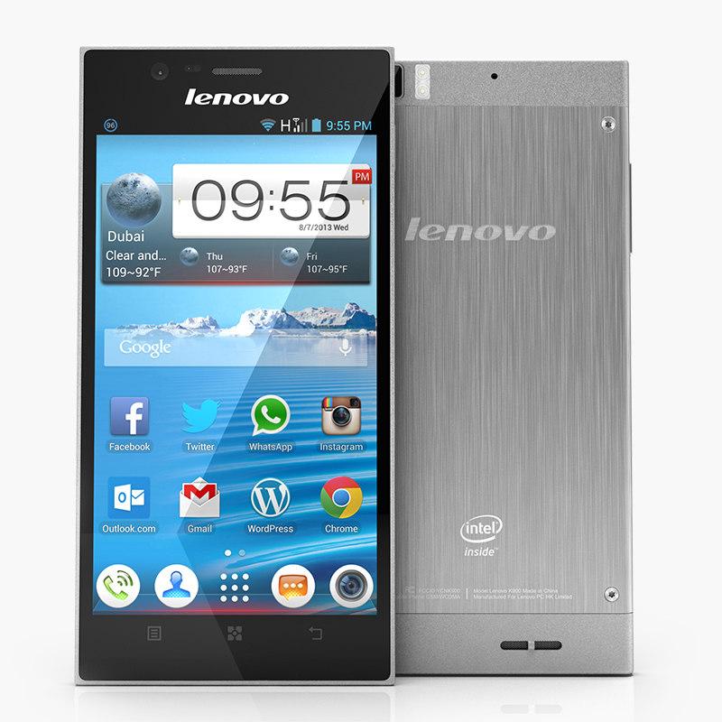 3d lenovo idea phone k900 model
