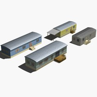 3d mobile home model