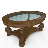 max oval cocktail table