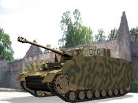 3d german tank